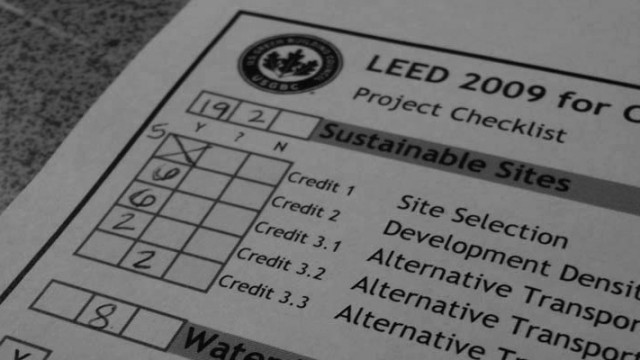 CAN YOUR BUILDING BE LEED CERTIFIED?