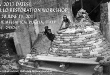 UPCOMING! 2017 Trullo Restoration Workshop with Thea Alvin