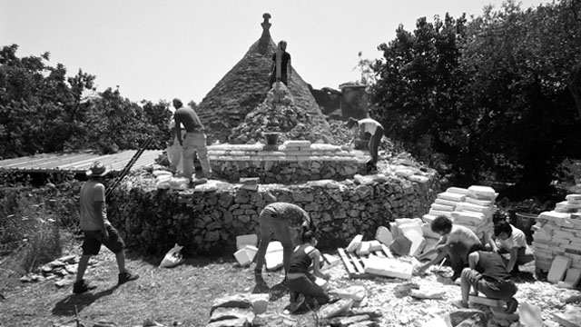 2016 TRULLO RESTORATION WORKSHOP with B.A.G.