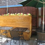 Banquette Growing Greens Side View