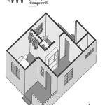 Axonometric Sketch for HFH House Option